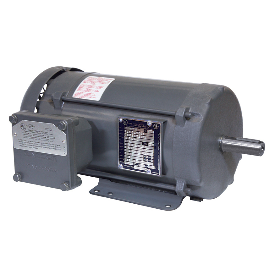 24″ MINI MONSOON MOTOR 2 HP 600V