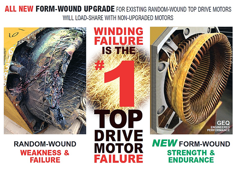 Consider motor rewinding to keep your electric drilling motors running efficiently