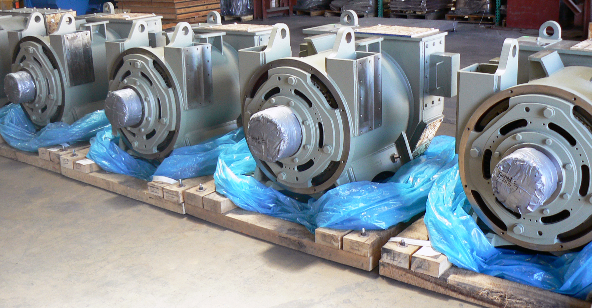 Gulf Electroquip has GE drilling motors in stock!