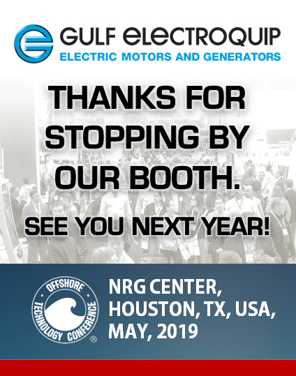 Thanks for visiting us at OTC2018!