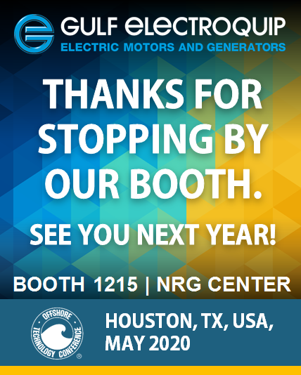 Thanks for visiting us at OTC2019!