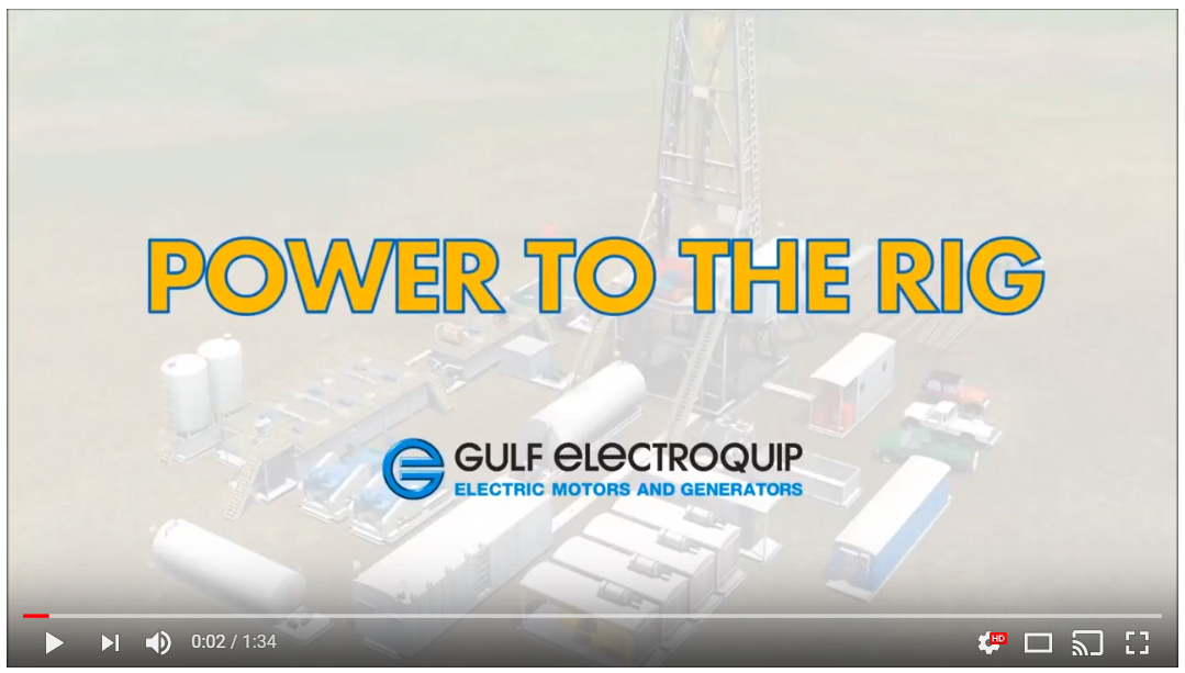 Gulf Electroquip Provides Power to Your Rig