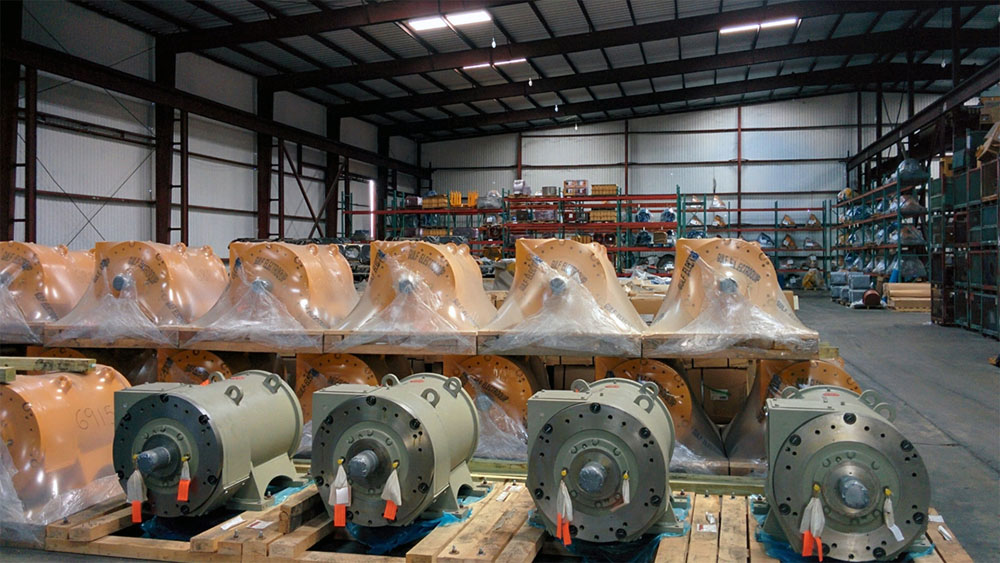 Drilling Motor Storage