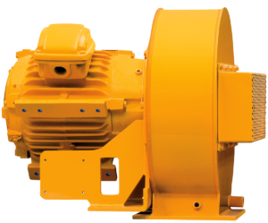 Top Mount Patented Self-Cleaning Drilling Motor Blower for 600 HP Top Drive Motors