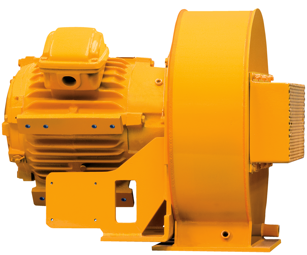 QUIET CLEAN™ Top Drive Motor Blower