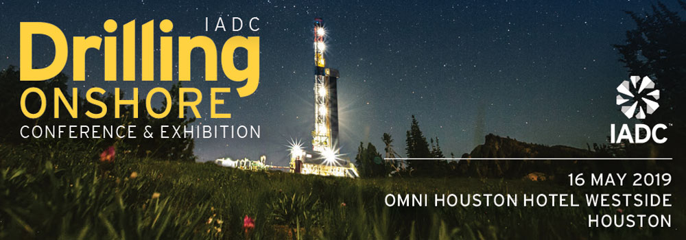 We're at the IADC 2019 Drilling Onshore Conference & Exhibition
